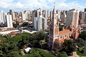Vista aérea de Ribeirão Preto